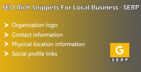 SEO Rich Snippets for Local Business SERP by a2coder
