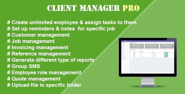 Client Manager Pro