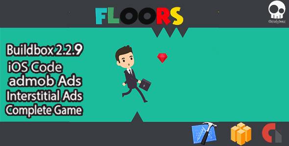 floors High Complete game including Buildbox file + Xcode - CodeCanyon Item for Sale