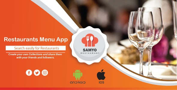 Restaurant Menu App(Bluetooth Printer) - CodeCanyon Item for Sale