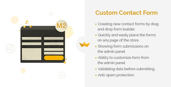 Custom Contact Form for Magento 2 - CodeCanyon Item for Sale