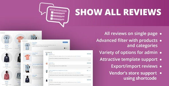 WooCommerce Show All Reviews