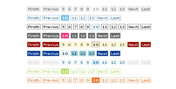 Flexi Pagination Class+ 9 CSS beautiful styles - CodeCanyon Item for Sale