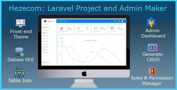 Hezecom: Laravel Project and Admin Maker