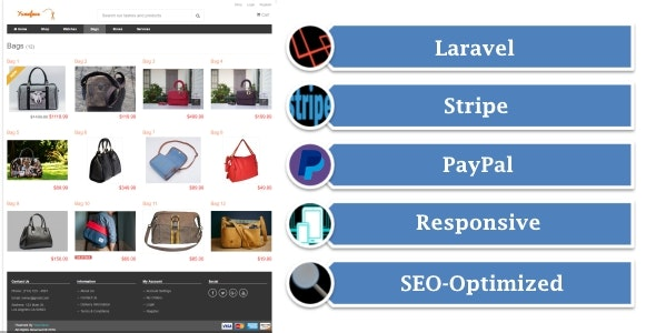 Yumefave | eCommerce Online Shop with Stripe and PayPal - CodeCanyon Item for Sale