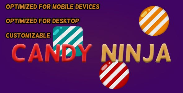 Candy Ninja (HTML5 Game + Construct 2 CAPX)
