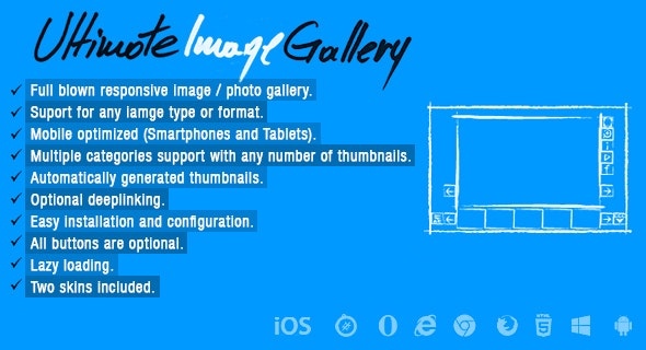 Ultimate Image Gallery - CodeCanyon Item for Sale