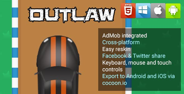 Outlaw - HTML5 Game - Phaser