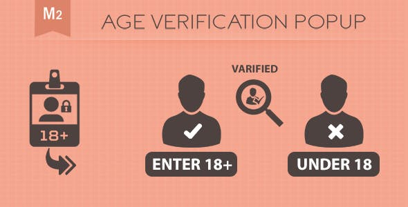 Age Verification PopUp Magento 2