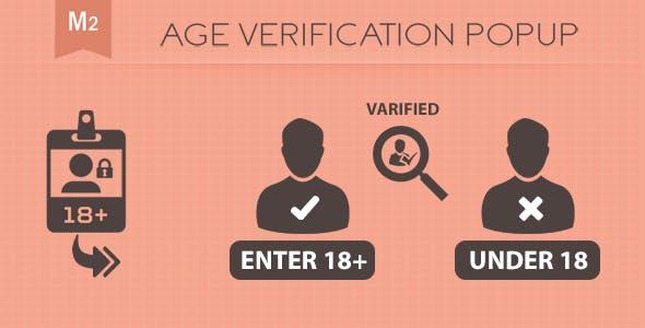 Age Verification PopUp Magento 2