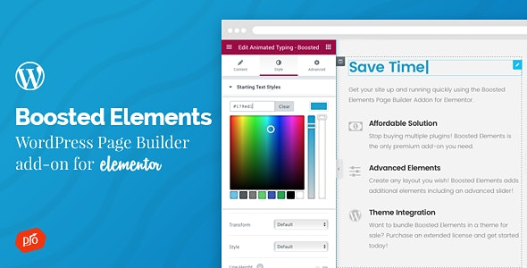 Boosted Elements | WordPress Page Builder Add-on for