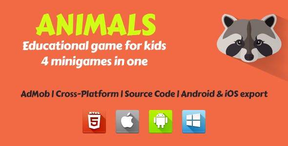 Animals - Educational Game For Kids
