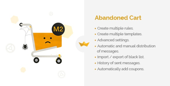 Abandoned Cart for Magento 2 - CodeCanyon Item for Sale