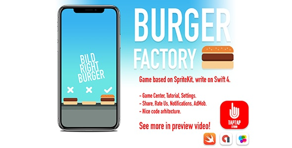 Burger Factory - CodeCanyon Item for Sale