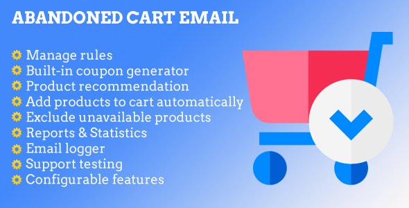Magento 2 Abandoned Cart Email - CodeCanyon Item for Sale