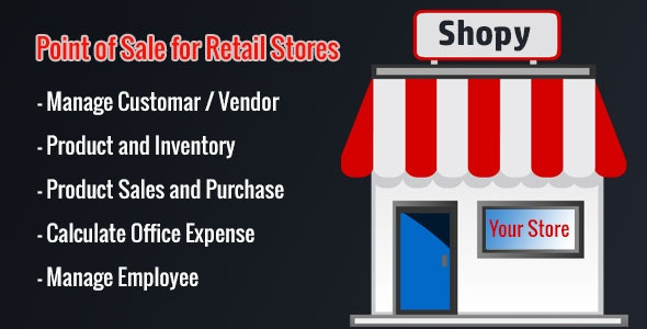 Shopy - Point of Sales - CodeCanyon Item for Sale
