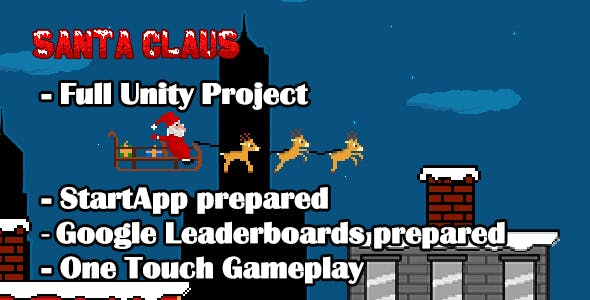 Santa Claus Game - Unity Android Game Template