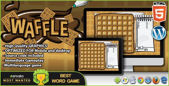 Waffle - HTML5 Word Game