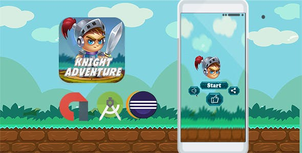 Knight Adventure RUN (Admob+Android Studio+Eclipse)