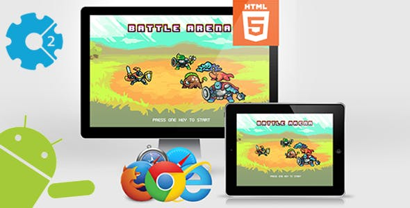 Battle Arena - HTML5 Game (CAPX)