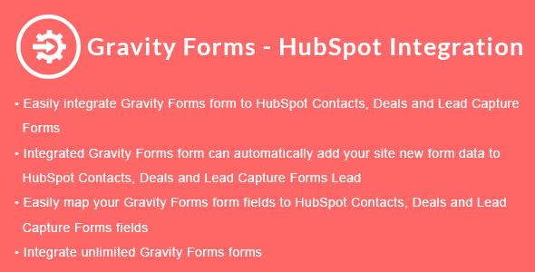 Gravity Forms - HubSpot Integration