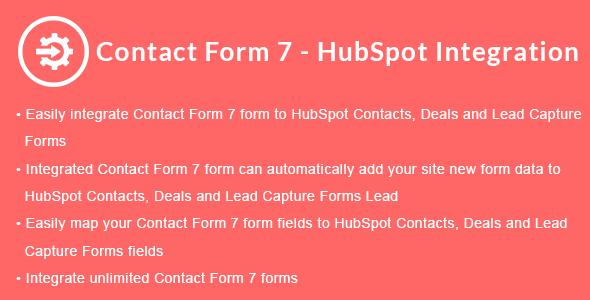 Contact Form 7 - HubSpot Integration