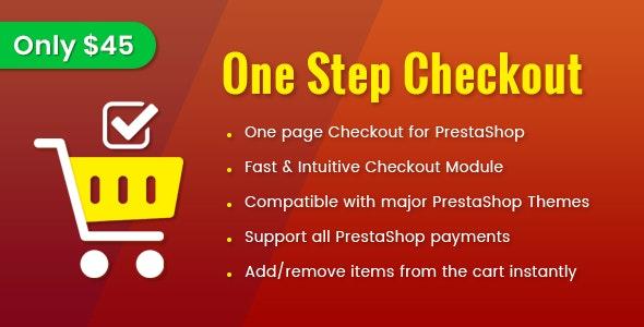 One Step Checkout - Smart Responsive PrestaShop 1.7 Module - CodeCanyon Item for Sale