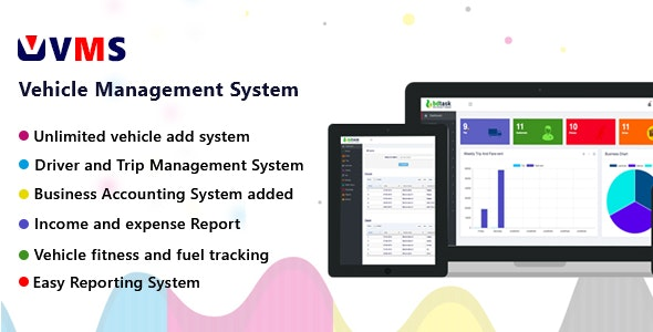 VMS - Vehicle Management System - CodeCanyon Item for Sale