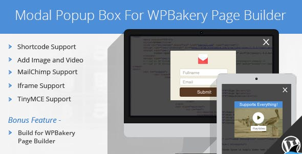 Modal Popup Box For WPBakery Page Builder        Nulled