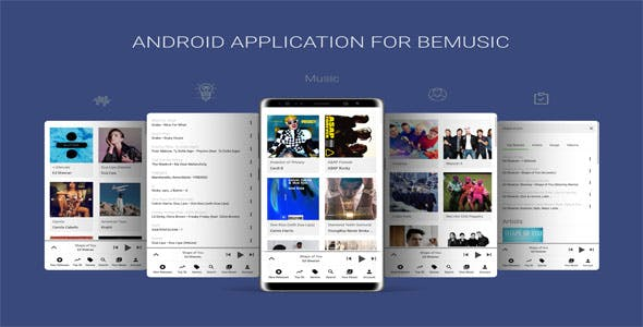 Android Application For BeMusic