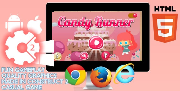 Candy Runner Game - CodeCanyon Item for Sale