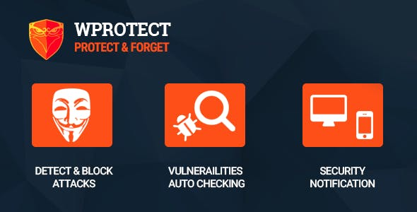 WProtect - Total security plugin for Wordpress