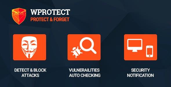 WProtect - Total security plugin for Wordpress