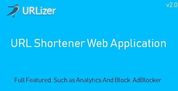 URLizer - URL Shortener - CodeCanyon Item for Sale