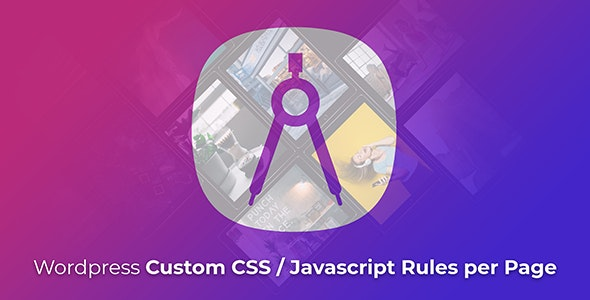 Wordpress Custom CSS / Javascript Rules per Page - CodeCanyon Item for Sale