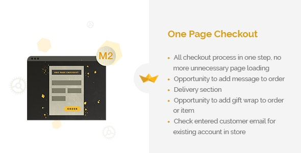 One Page Checkout for Magento 2 - CodeCanyon Item for Sale