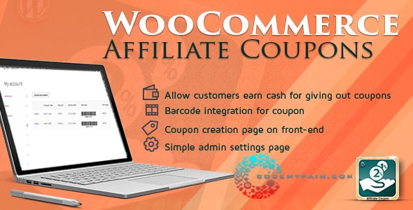 WooCommerce Affiliates Coupon - CodeCanyon Item for Sale
