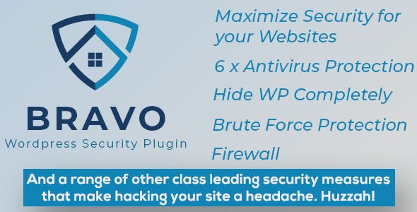 Bravo WordPress Security Plugin - Hide My WP, Stop Hacks!