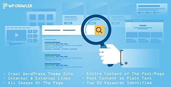 WP Crawler - Crawl website SEO keywords, Links, Images & Content