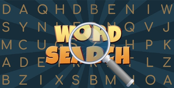 Word Search Puzzle - CodeCanyon Item for Sale