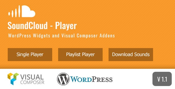 SC Media - SoundCloud Widgets and Visual Composer Addons - CodeCanyon Item for Sale