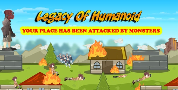 Legacy Of Humanoid Action Game - Android , IOS, Windows Phone Template Inside - CodeCanyon Item for Sale