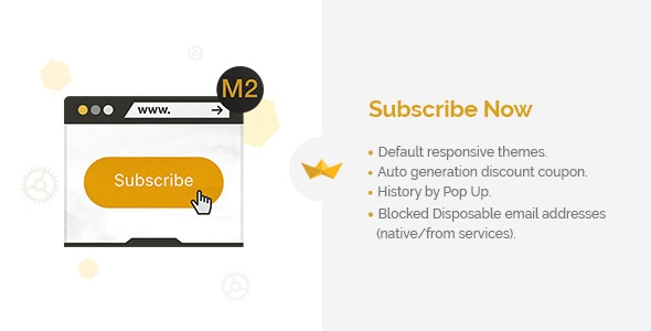 Subscribe Now for Magento 2 - CodeCanyon Item for Sale