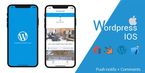 Ultimate wordpress IOS app v2