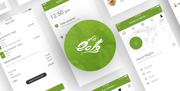 On Demand Food Delivery App Template - CodeCanyon Item for Sale