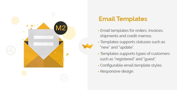 Email Templates for Magento 2 - CodeCanyon Item for Sale