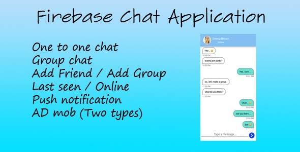 Firebase Chat Application