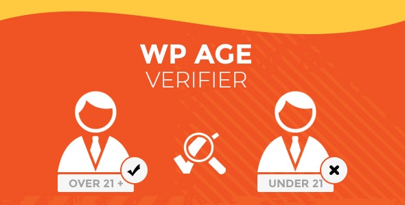 WP Age Verifier - CodeCanyon Item for Sale
