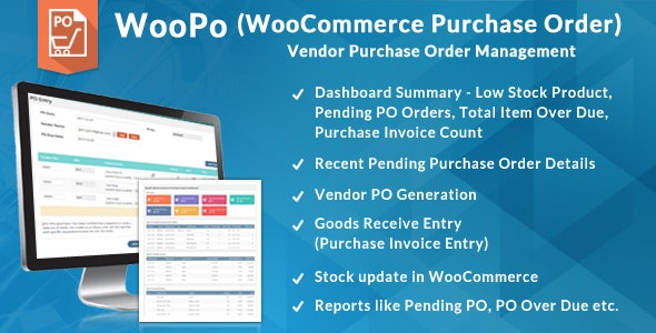 WooCommerce Purchase Order (PO System)