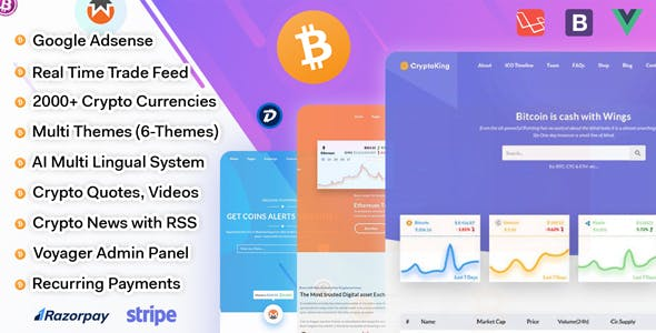 Crypto PHP Scripts from CodeCanyon